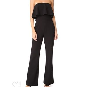 Likely Driggs Off the Shoulder Ruffled  Jumpsuit